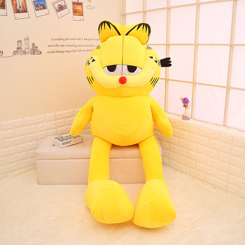130 180cm Unstuffed Big Garfield Cat Skin Shell Plush Toy Doll Semi