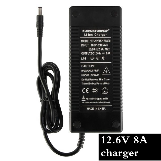 1pc Best prices 12.6V 8A intelligence lithium li-ion battery charger for 3Series 12V lithium polymer battery pack12.6V Charger1pc Best prices 12.6V 8A intelligence lithium li-ion battery charger for 3Series 12V lithium polymer battery pack12.6V Charger