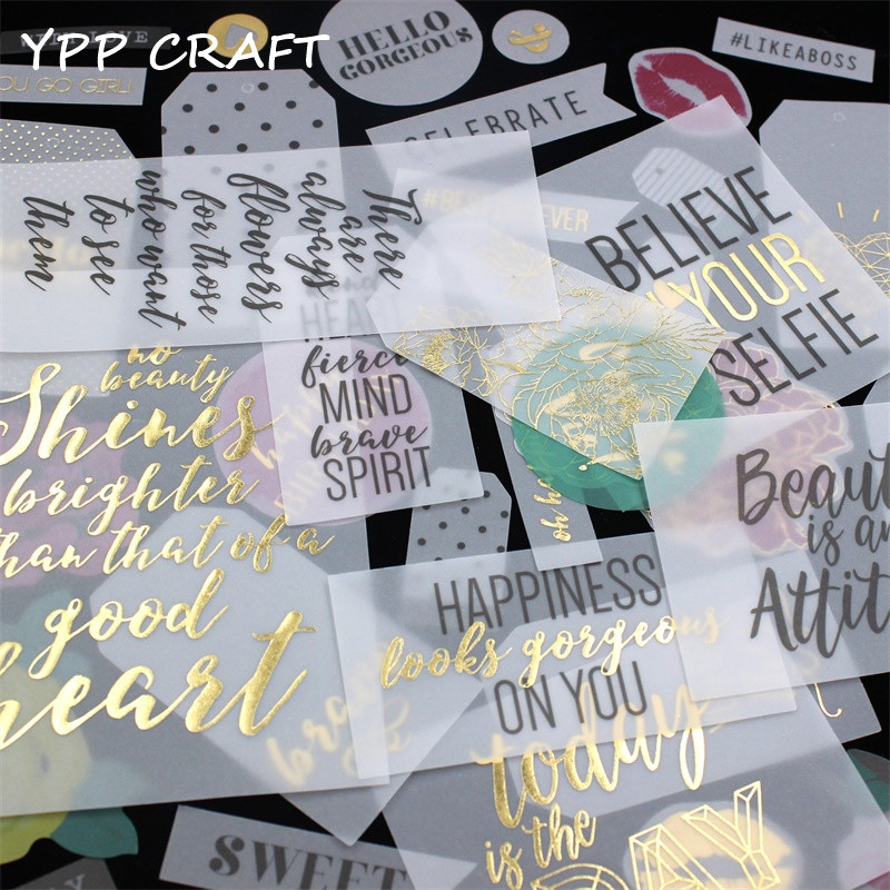 ypp craft 38pc hello sunshine vellum paper die cuts for