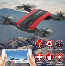 New Jxd-523 wireless control Mini Selfie Drone With Camera Altitude Hold FPV Quadcopter WiFi Phone Control Rc Helicopter Toy