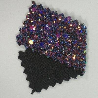 25*100 см сорт 3 объемный Блестящий виниловый рулон ткани для обоев, настольного бегуна, банта для волос DIY украшения ремесла 1 шт - Цвет: 14