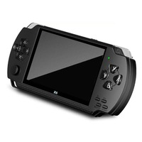 For X6 PSP Handheld Game Console Mp5 Mp4 Player Real 8gb Game Camera Video With Screen For Exquisite Presents