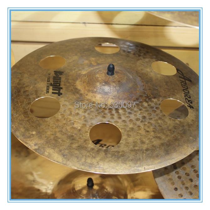 Knight  16O-ZONE Raw  CYMBAL,Arborea  drum  cymbal handmade b20 cymbal dragon 16 o zone cymbal