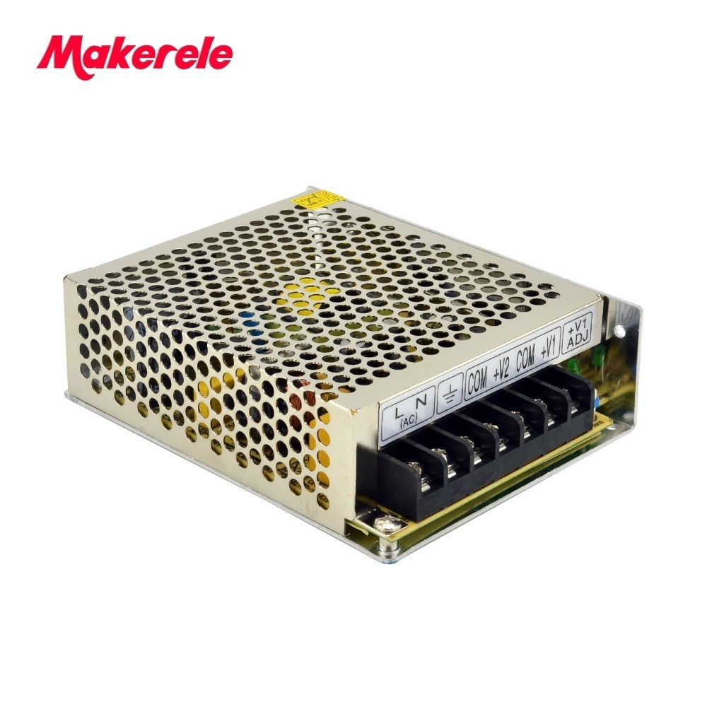50W 5V 12V dual output Switching Power Supply NED-50A with wide range input 110V/220VAC Hot sale New product 2017 hamlet ned r
