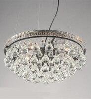 Milan 10 Lights Gold Candle Chandeliers Antique Crystal Chandelier Hanging Lamps Vintage Droplight Bedroom Kids Led