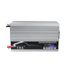 High power 5000W 5000Watt Auto Car Pure Sine Wave Power Inverter DC 24V to AC 220V Converter Pure Sine Inverter Solar Power цена и фото