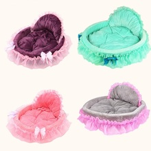 luxury princess dog house cat dog beds cat sofa dog nest puppy pet kennel for small