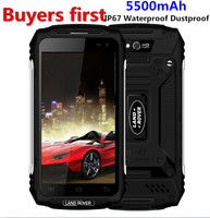 Land Rover X2 IP67 Waterproof Dustproof Smartphone 1280 720 5 0 MTK6737 Quad Core RAM 2GB
