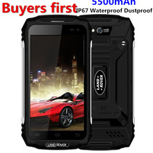 Land Rover X2 IP67 Waterproof Dustproof Smartphone 1280*720 5.0