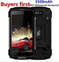 Land Rover X2 IP67 Waterproof Dustproof Smartphone 1280 720 5 0 MTK6737 Quad Core RAM 2GB