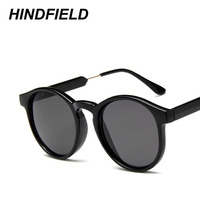 Hot Summer Fashion Cool Sunglasses Women Vintage Round Frame Sun Glasses High Quality Eyewear 2017 New