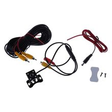 Car Rear View Camera Backup Parking 4 LED Night Vision Waterproof 170 Mini Reverse