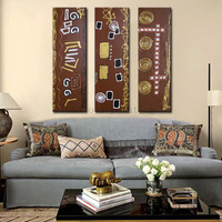 Excellent Artist Hand Painted High Quality Abstract Arabic Art Calligraphy Oil Painting On Canvas Handmade Islamic Wall Artwork