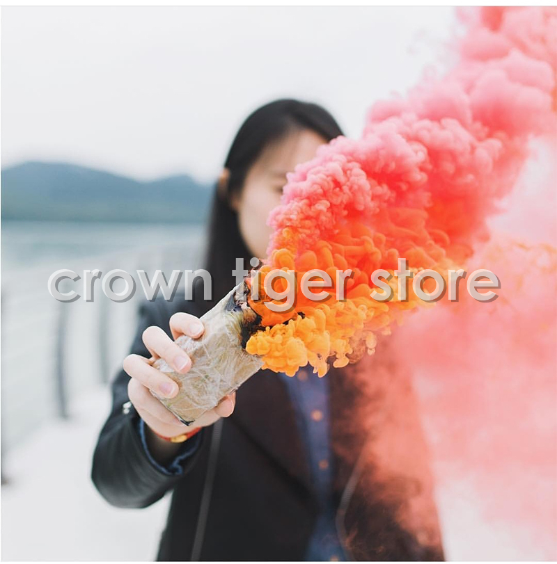 hot colored Magic smoke props for photograp Studio Video backgroud smoke cake fog Pyrotechnics scene magic trick toy for adults-in Magic Tricks from Toys & Hobbies
