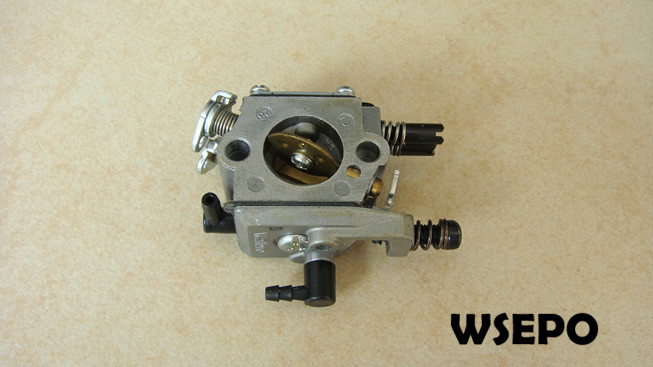 Top Quality! Carburetor/Carb Assy for 45CC Universal Gasoline/Petrol 2 Stroke Small Chainsaw/Wood Spliter chainsaw piston assy with rings needle bearing fit partner 350 craftsman poulan sm4018 220 260 pp220 husqvarna replacement parts