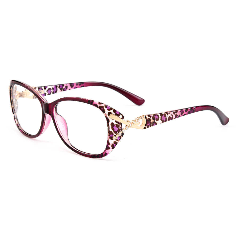 Gmei Optik Trendi Ultralight TR90 Penuh Rim Wanita Optik Kacamata Bingkai Plastik Wanita Miopia Presbyopia Kacamata M1689