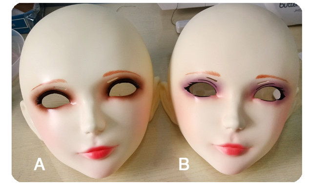 Mask on real sex