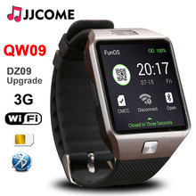 Original 3G WIFI QW09 Bluetooth Smart Bracelet Men SIM Card Fitness Bracelet 4GB/512MB Watches Phone Watch PK A1 DZ09 Smartwatch все цены