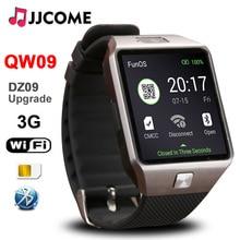 Original 3G WIFI QW09 Bluetooth Smart Bracelet Men SIM Card Fitness Bracelet 4GB/512MB Watches Phone Watch PK A1 DZ09 Smartwatch 696 low price x100 bluetooth smart watch rom 4gb 3g gps wifi android 5 1 smartwatch heart rate meter step watchs pk gw06 q1 q1