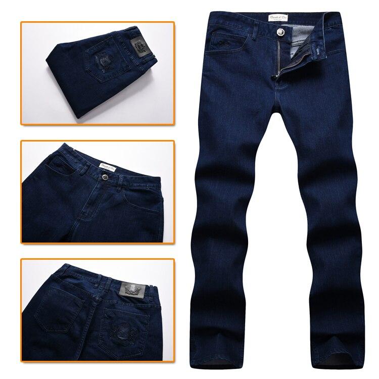 TACE & SHARK miliarder jean mężczyzn 2017 jesień w nowym stylu komfort na co dzień hafty zaprojektowane doskonała jakość spodni bezpłatna w Dżinsy od Odzież męska na  Grupa 1