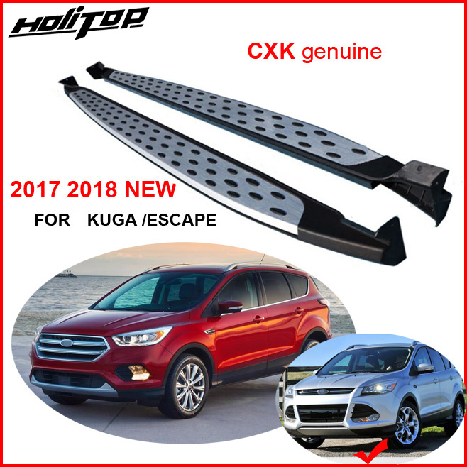 for Ford 2017 2018 NEW Escape Kuga running board side step bar CXK geunine BM model
