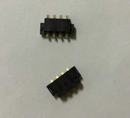 2 шт./лот, оригинальный новый аккумулятор FPC разъем клип держатель для LG G4 на материнскую плату на плате