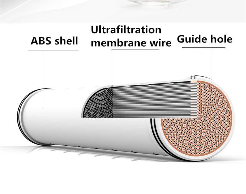 500L/h Undersink ультра фильтр системы очистки воды