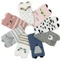 4 Pair/lot Kids Socks Brand kids Boy&Girls Children's Baby Socks Fox Dog Cat 3D Warm Socks 8 Style For 1-6 Year