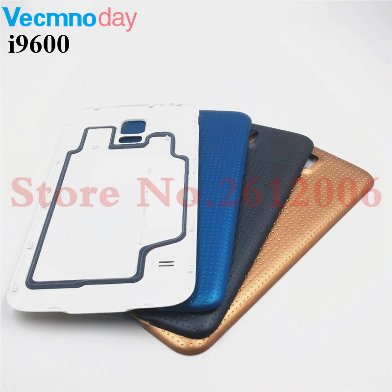 New Back Housing For Samsung Galaxy S5 I9600 G900 G900F G900H SM-G900F Back Cover Case Battery Rear Door Replacement Parts