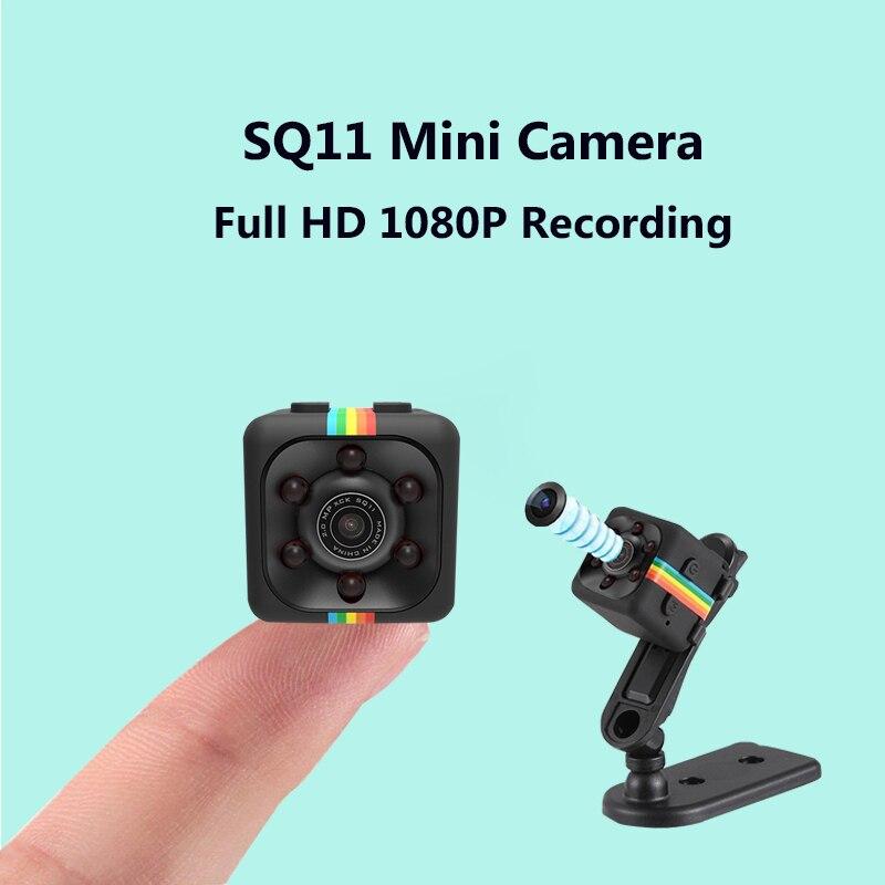 SQ11 Mini Telecamera Full HD 1080 P 720 P Visione notturna Micro Camera Motion Detection DV DVR Mini Videocamera portatile Registratore vocale