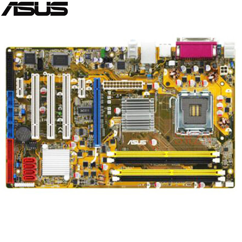 original Used Desktop motherboard For ASUS P5B SE P5B support LGA 775 2*DDR2 support 8G 4*SATA2 ATX original used desktop motherboard for asus m4a88t m a88 support socket am3 4 ddr3 support 16g 6 sata2 uatx