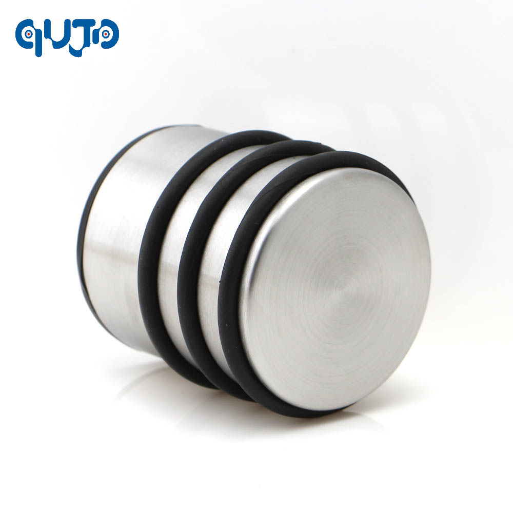 Heavy Weight Door Stop Round Heavy Weight Duty Door Stop Rubber Non Slip Floor Protector Stopper Metal Stainless Steel Wedge Cylinder Door Holder In Door Stops From Home