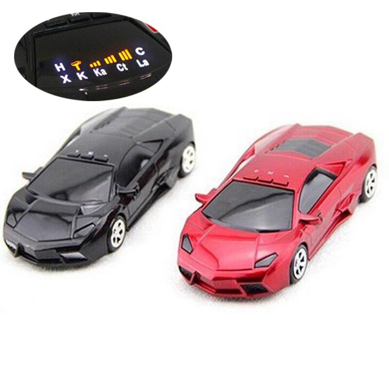 imágenes para Detector del Radar del coche 16 Marca Exhibición LLEVADA Xk NK Ku Ka Laser Anti Detector de Radar Inglés y Ruso voz Lamborghini