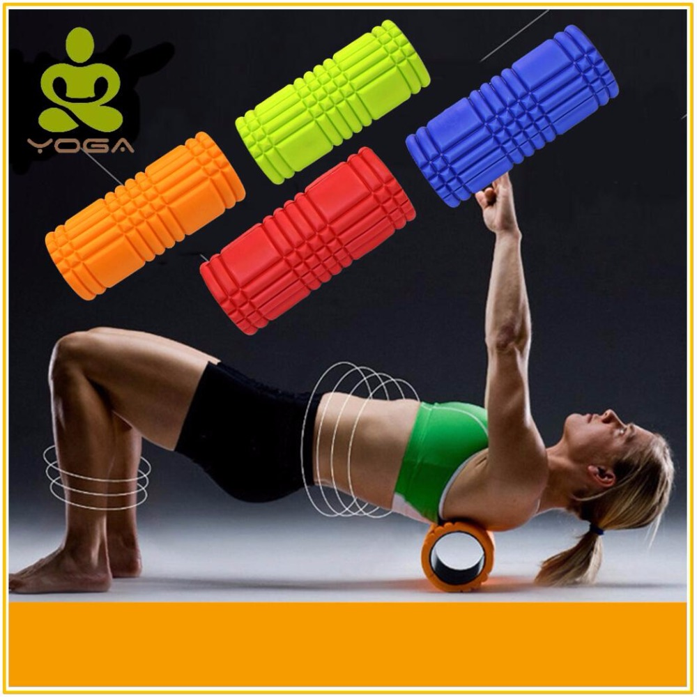 33 cm x 14 cm Yoga Block Pilates Yoga Accessories Physical Therapy Deep Tissue Muscle Massage fitness roller 4 Colors  yoga accessories yoga block | Best Yoga Props: Top 3 Yoga Accessories for Your Home Yoga Practice 33 cm x 14 cm font b Yoga b font font b Block b font Pilates