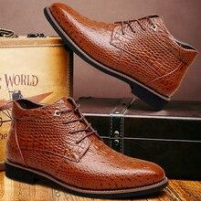 Men boots genuine leather winter plush fretwork fashion ankle boots plus size 10.5-12.5 lace-up designer male boots все цены