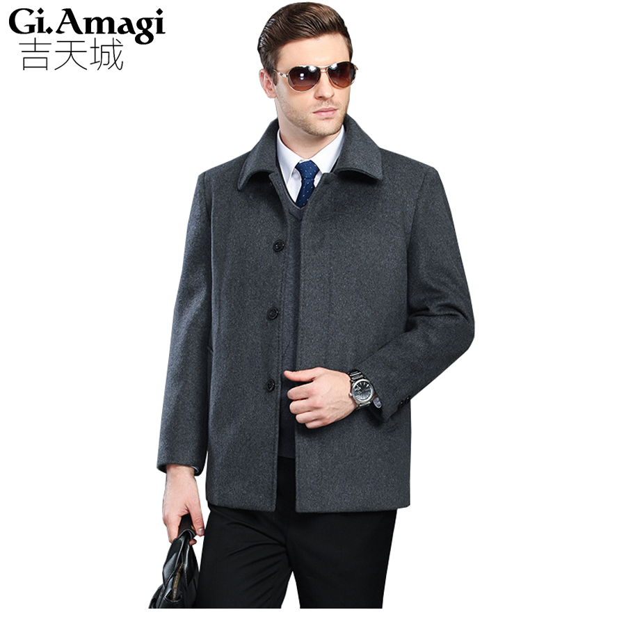 HAMPSON LANQE Motorcycle Leather Jackets Men Autumn Winter Leather Clothing Men Leather Jackets Male Business casual