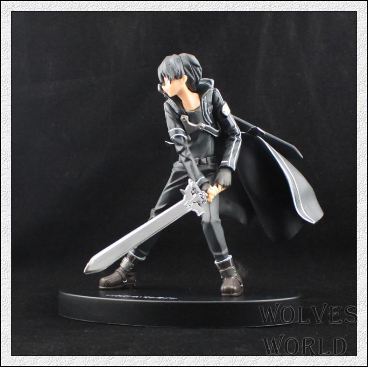 16cm High Quality Sword Art Online Model Yuki Asuna Kirigaya Kazuto Action Figure SAO Kirito Asuna Model