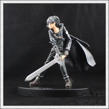 16cm High Quality Sword Art Online Model Yuki Asuna Kirigaya Kazuto Action Figure SAO Kirito Asuna Model
