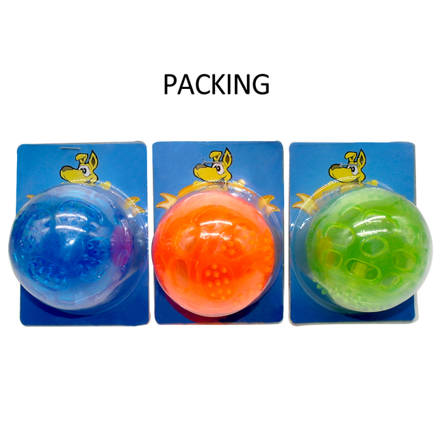Interactive Teeth Cleaning Rubber Dog Ball