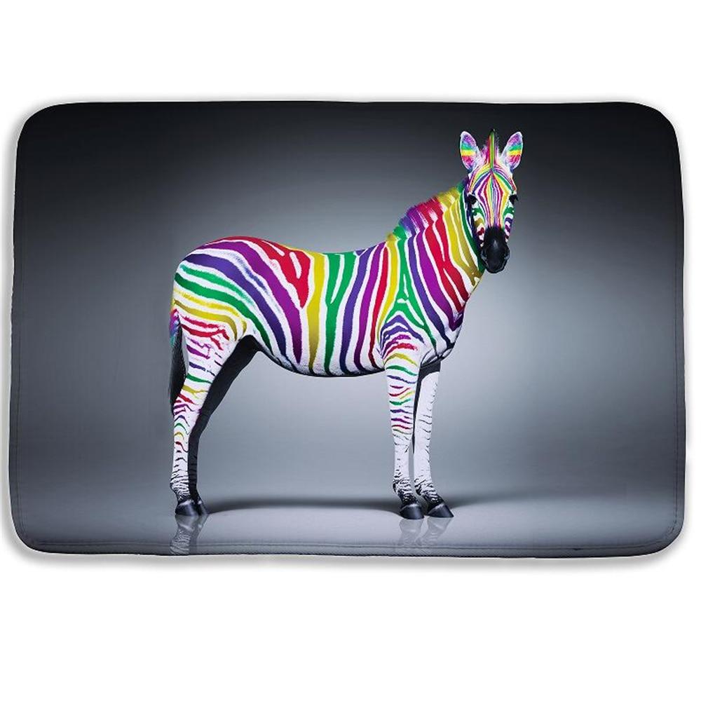 Online kopen wholesale zebra badmat uit china zebra badmat ...