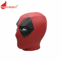 Costumebuy Movie Deadpool Wade Wilson Cosplay Mask PVC Full Head Face Helmet Deadpool Cosplay Costume Props Party Masks Adult