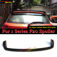 F20 Roof Rear Spoiler Wing Carbon Fiber AC-Style Fits For BMW 1 Series 118i 120i 128i Window 2012-in