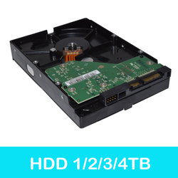 simicam 1TB/2TB/3TB/4TB Storage Video Surveillance HDD Internal Hard Drive Disk 3.5 SATA for Computer and CCTV Camera System