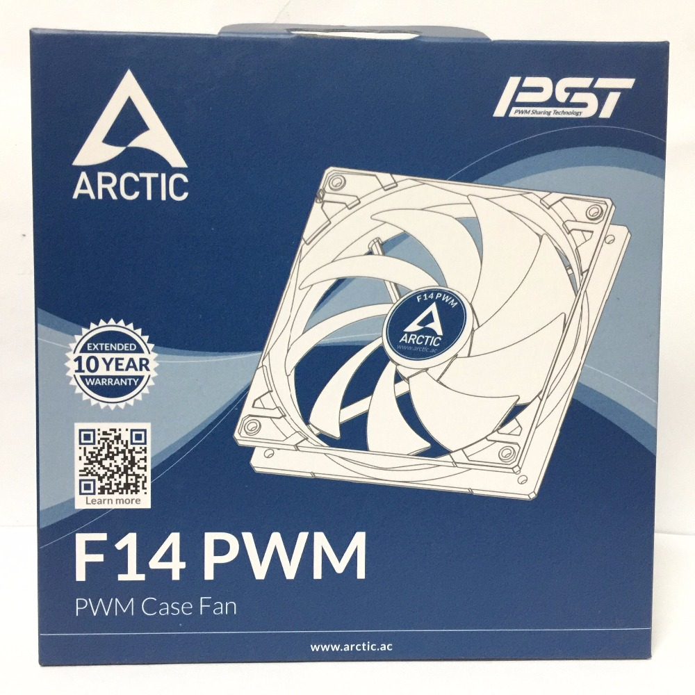ARCTIC F14 PWM 14cm 4pin computer case cooling fan quiet cpu power cooler Computer case CPU heat sink fan 2200rpm cpu quiet fan cooler cooling heatsink for intel lga775 1155 amd am2 3 l059 new hot