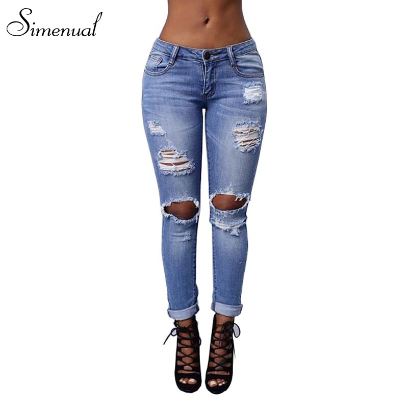 New arrival 2017 vintage ripped jeans for women plus size fashion new slim torn skinny jean ladieswear retro female pants sale new arrival women s sunglasses women anti reflective fashion vintage brand female retro sun glasses for lady oversize wholesale