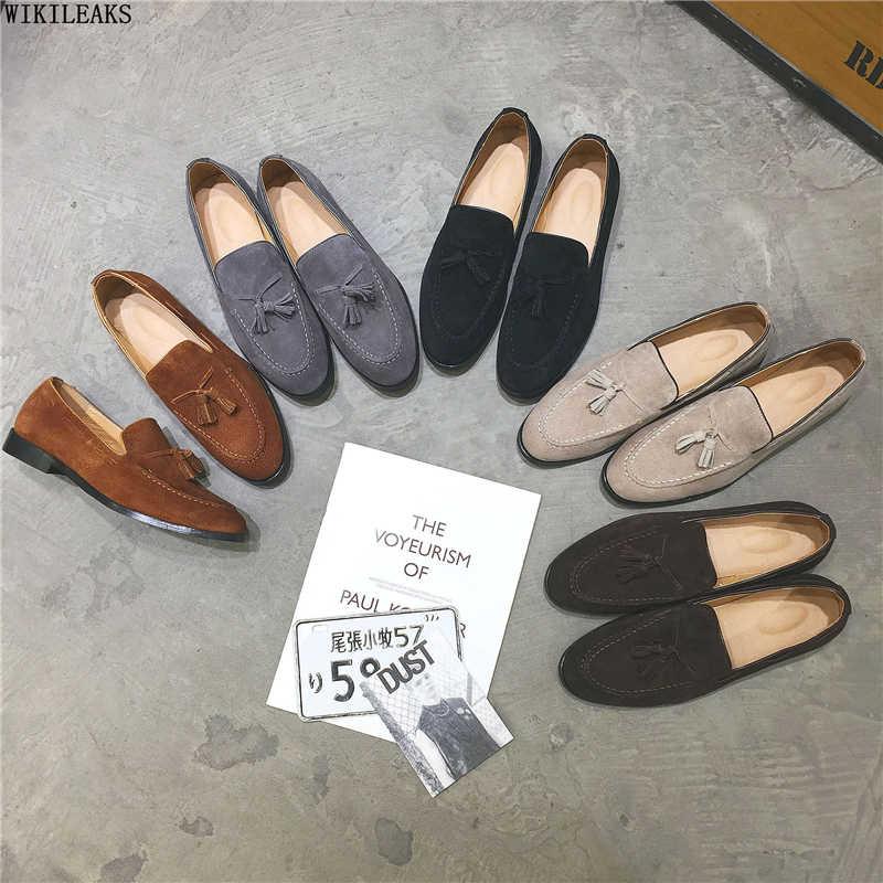 Sapatos masculinos de luxo sapatos de casamento formal sapatos masculinos mocassins clássicos sapatos de couro sapatos sepatu deslizamento em pria chaussures classique homme