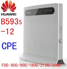 unlocked HUAWEI B593 b593s 12 12v router wifi 4g router with sim card slot rj45 mifi