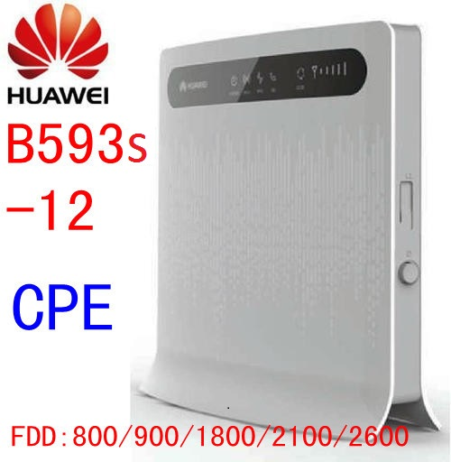unlocked HUAWEI B593 b593s-12 LTE mifi WiFi 4G home Router wireless 4g lte dongle with SIM Card Slot cpe pk e5172 b880 b890 unlocked huawei b890 75 4g lte mifi router b890 4g lte fdd 800 900 1800 2100 2600mhz 4g lte wireless router pk b593 e5172 b880