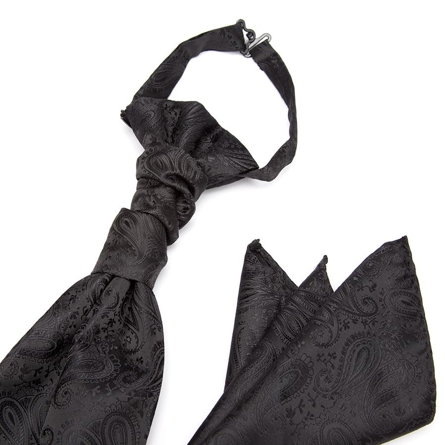 Mens Fashion Paisley Ties for Men Classics Business Tie Cravat Set Jacquard Pattern Necktie Luxury Gift Wedding Accessories in Men 39 s Ties amp Handkerchiefs from Apparel Accessories