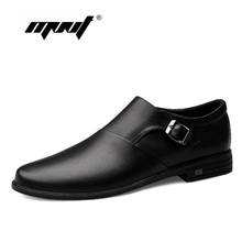 Spring Comfortable Men Casual Shoes Oxfords Fashion Quality Genuine Leather Flats